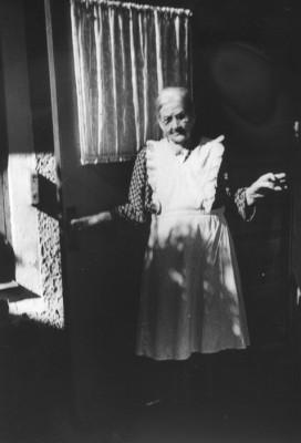Fru Sofia Sundström, telefonist i hela 43 år (1900-1943)
