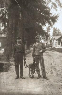 Karl Forsberg och Sven Bergman