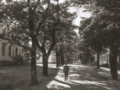 Bruksgatan som blev Rostugnsvägen