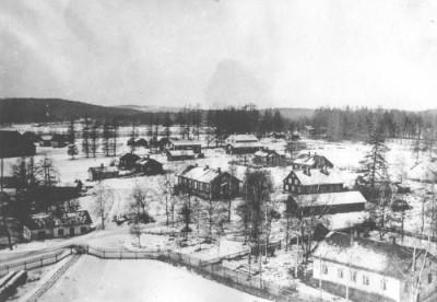 Vikmanshyttan i slutet av 1910-talet