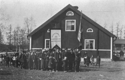 Demonstration, 1917