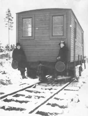 Anna Bergman & Dagny Elg
