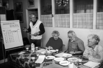 Kak-juryn: Holmgren, Fälth & Källviks samt hembygdsföreningsens ordförande Brötegård