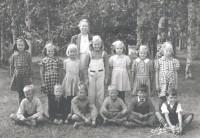 Andra klassare. Lärare: Maria Sjödahl.