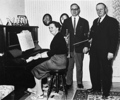 Ellen, John & Erik Eriksson