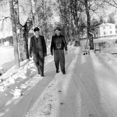 Albin Nilsson och Karl-Åke Hagman