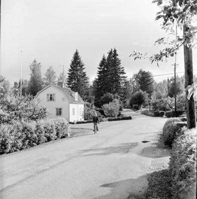 Korsningen av Angersteinvägen – Hyttvägen