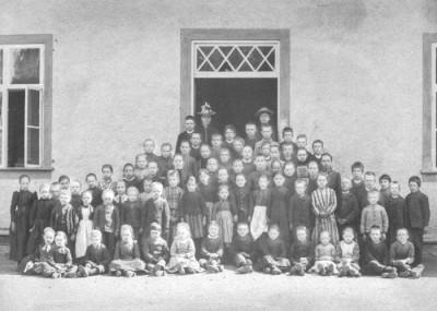 Skolfotografi 1906
