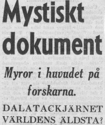 Mystisk artikel