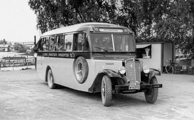 En av Åbergs bussar