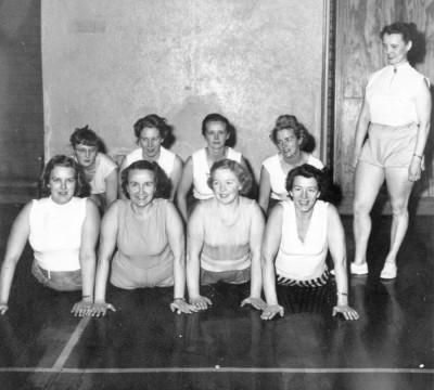 Ett flertal övningar stod på programmet