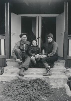 Helmer, Birgit & Eva Franzén