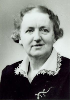 Anna Agrell, föreningens första sekreterare