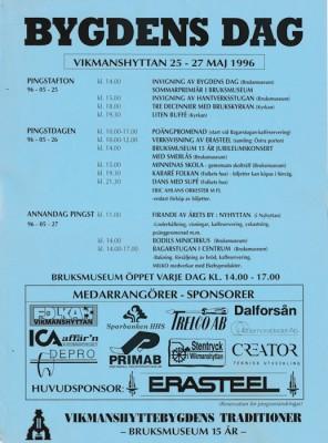 Bygdens Dag 1996