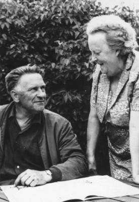 En avkopplande bild för både Ruben och Dagny Elg