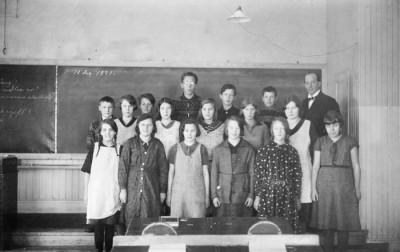 År 1931, fortsättningssskolan