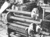 Svarvning av stora ventiler. Kjell Lindström