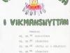 Program för valborgsmässofirande 1976