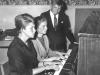 Piano-elever (Magnus, Sylvia, Margareta)