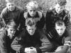 En vikmanshyttesextett: Björn, Tage, Raimo, Jan-Olof, Olle, Torsten