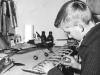 Tidsfördriv från och till under årens lopp, här håller en flygmaskin att växa fram, byggare unge herr Danielsson