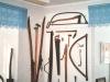 Gamla redskap - blå rummet