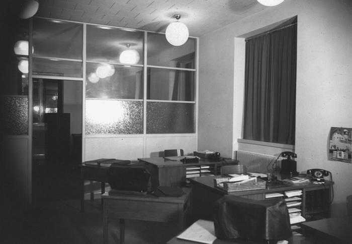 Brukskontoret, Kamerala avdelningen