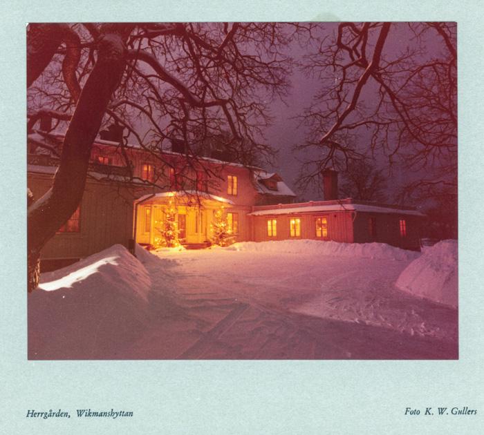 Herrgården i juletid