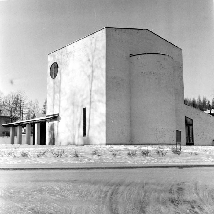 Vikmanshyttans kyrka, exteriör