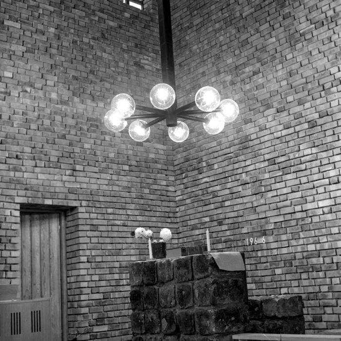 Vikmanshyttans kyrka, interiör
