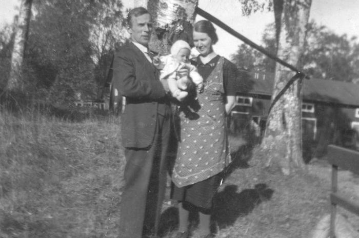 Gustaf, Inga-lill & Betty Gröning