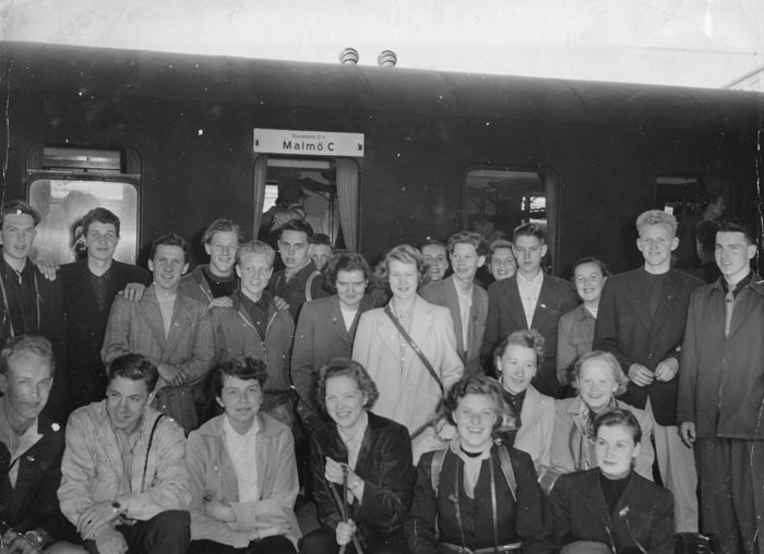 Resenärer i Malmö